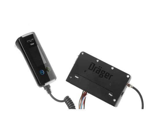 Alcoholímetro inmovilizador del vehículo Drager Interlock 7000